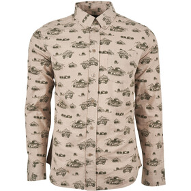 United By Blue Outpost LS Button Down Men mushroom/adventure mobile